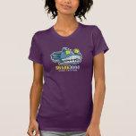 Camiseta del tiburón 3000 del robot de Steampunk