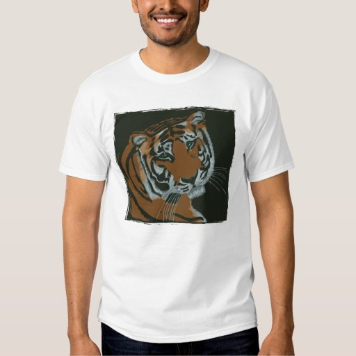 Camiseta del tigre de Bengala Playera