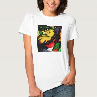 Camiseta del tigre de Franz Marc Playeras