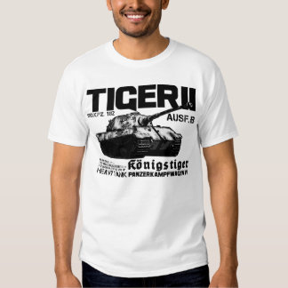 Camiseta del tigre II Polera
