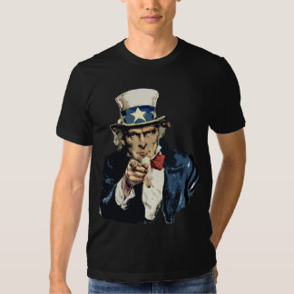 Camiseta del tío Sam Poleras