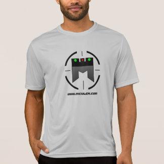 Camiseta del tiroteo del competidor de Miculek del