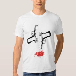 Camiseta del tiroteo poleras