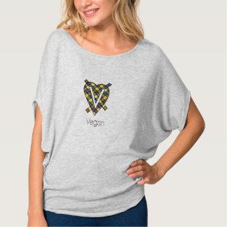 Camiseta del top del círculo de Flowy de las