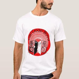 Camiseta del topetón de los altavoces de la costa