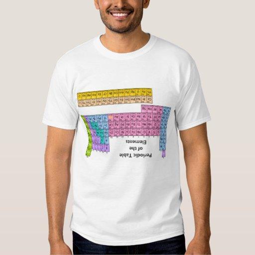 Camiseta del tramposo de la tabla periódica remeras