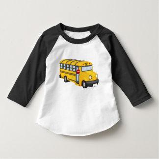 Camiseta del transporte del niño del autobús