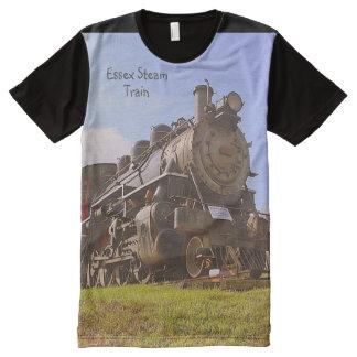 Camiseta del tren del vapor de Essex