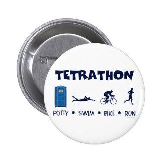 Camiseta del Triathlon de Tetrathon Pin