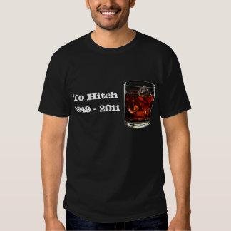 Camiseta del tributo de Christopher Hitchens Remeras
