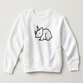 Camiseta del Triceratops del niño Remera