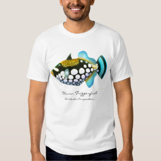 Camiseta del Triggerfish del payaso Remera
