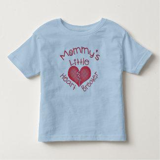 Camiseta del triturador del corazón de la tarjeta playeras