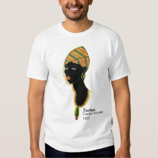 Camiseta del turbante playeras