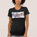 """Camiseta del """"twofer"""" de las señoras"""