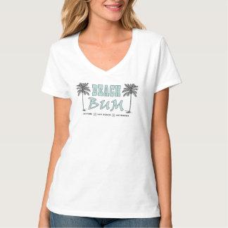 Camiseta del vago de la playa del estilo del vinta playera