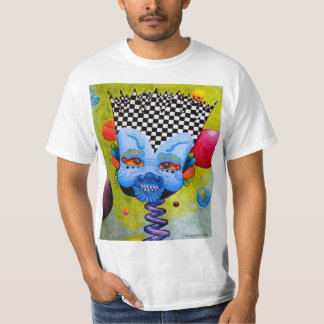 """Camiseta del valor """"BlueMan"""" de los hombres"""