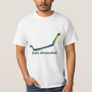 Camiseta del valor de Bronzeback de la pared