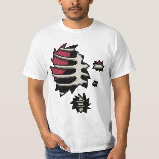 Camiseta del valor de la anatomía de los Undead Playera