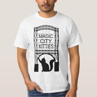 Camiseta del valor de la ciudad de los hombres poleras