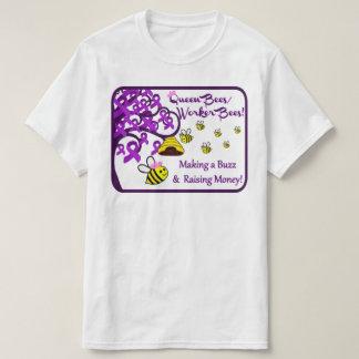 Camiseta del valor de las abejas reinas/de las
