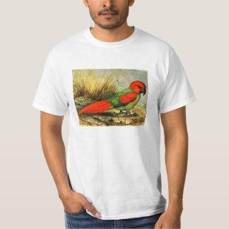 Camiseta del valor de Necropsittacus Borbonicus