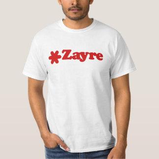Camiseta del valor de Zayre