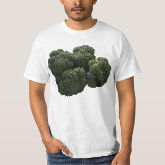 Camiseta del valor del bróculi poleras