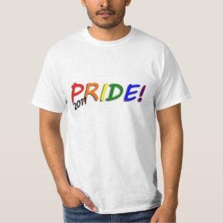 Camiseta del valor del orgullo 2011 playera