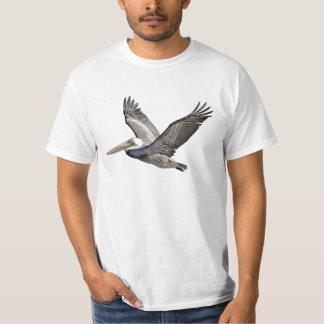 Camiseta del valor del pelícano playeras
