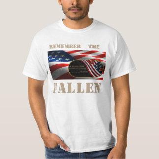 Camiseta del valor remeras