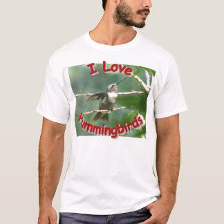 camiseta del varón de la Rubí-garganta