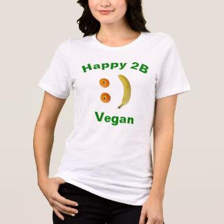 """Camiseta """"del vegano feliz 2B"""""""
