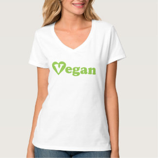 Camiseta del vegano playeras