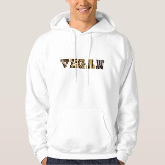 Camiseta del vegano sudadera
