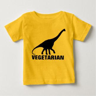 Camiseta del VEGETARIANO del dinosaurio Remera