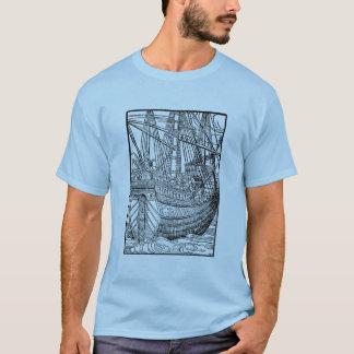 Camiseta del velero de Galleon
