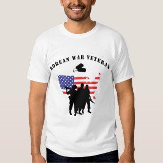 Camiseta del veterano de Guerra de Corea Camisas