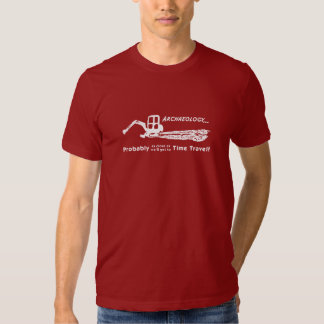 Camiseta del viaje del tiempo remera
