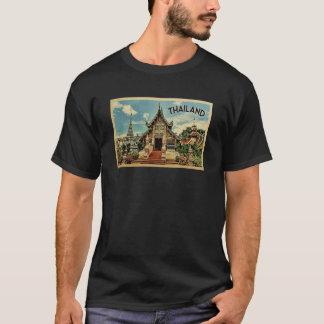 Camiseta del viaje del vintage de Tailandia