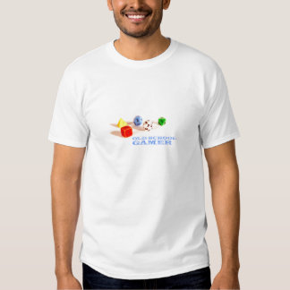 Camiseta del videojugador de la escuela vieja playera