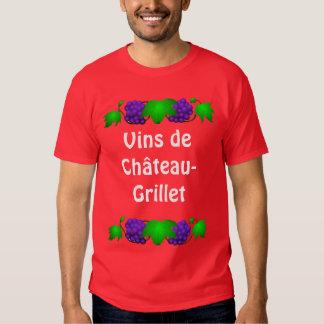 Camiseta del vino - Château-Grillet Playera