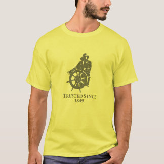 Camiseta del vintage de Gorton