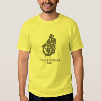 Camiseta del vintage de Gorton Playera