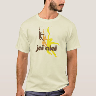 Camiseta del vintage de Jai Alai