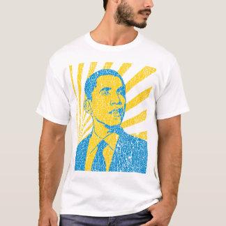 Camiseta del vintage de Obama