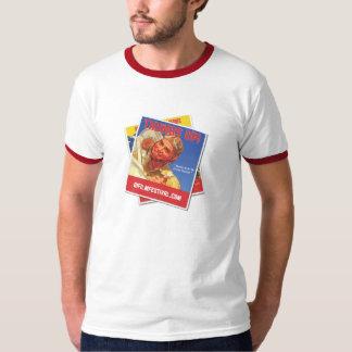 Camiseta del vintage del festival de cine del