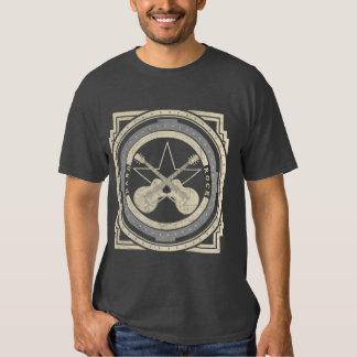 camiseta del vintage del heavy remera