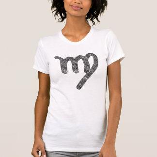 Camiseta del virgo del zodiaco playeras