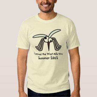 Camiseta del virus del Nilo del oeste Playera